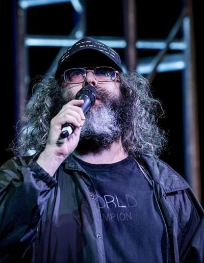 Judah Friedlander at Moontower Photo: Robert Hein