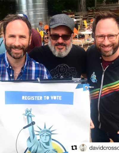 Sklar Brothers & David Cross Cosmic Coffee and Beer Garden Austin Texas April 20th 2018