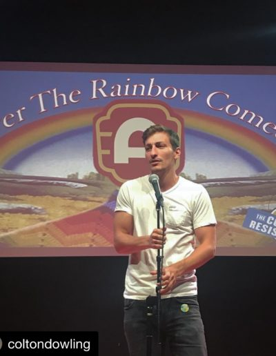 Colton Dowling July 27th 2018 Alamo Drafthouse Mueller Over the Rainbow