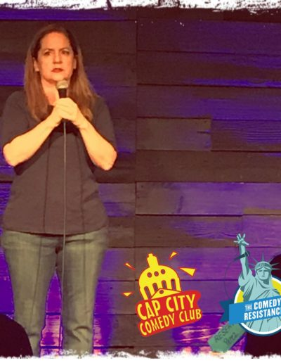 Martha Kelly Cap City Comedy Club Sep 11 2018 Austin TX