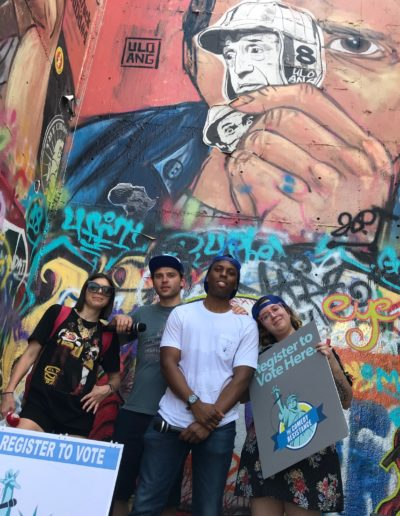 Ashley Overton Avery Moore Justin Hicks Hunter Duncan HOPE Graffiti Park Austin TX